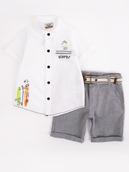 Комплект для мальчика: рубашка и шорты