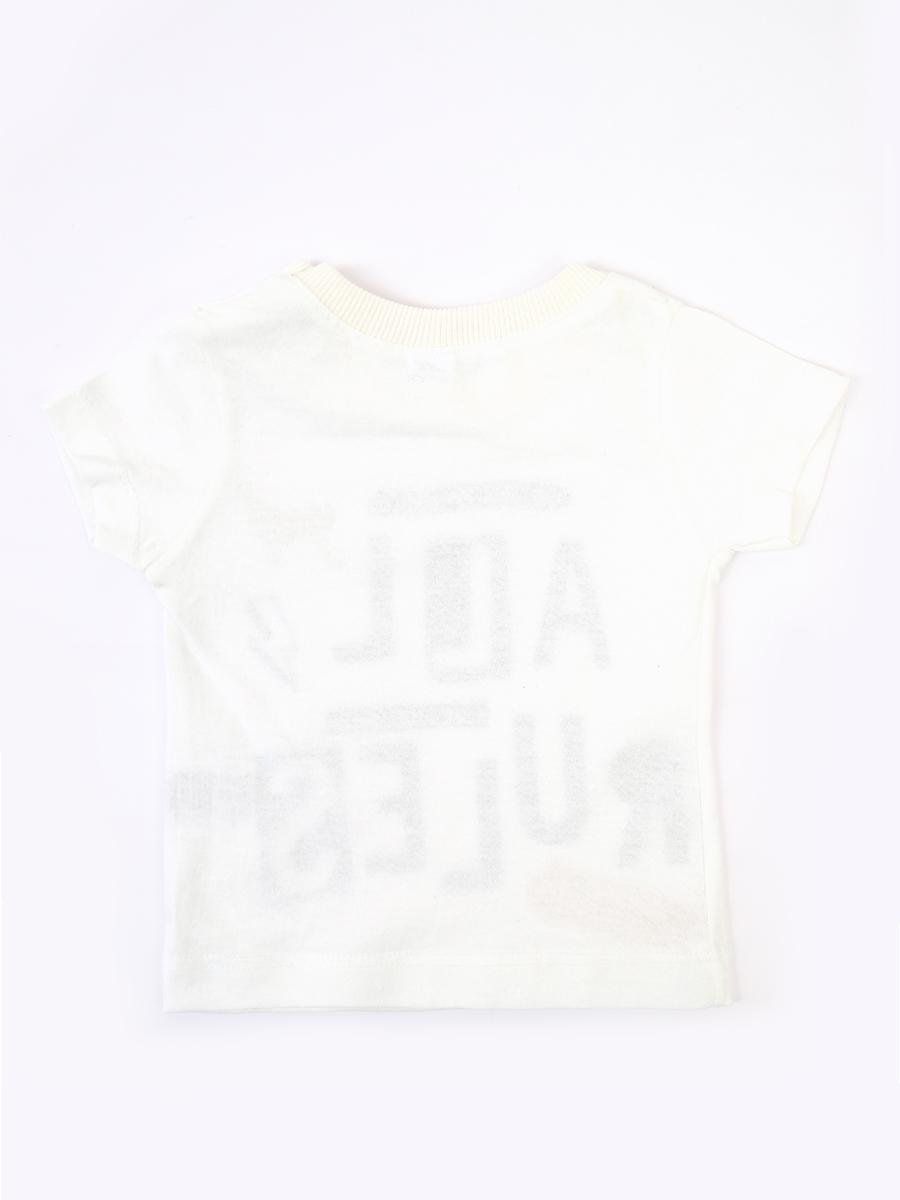 Комплект для мальчика: футболка, брюки джинсовые и жилет, цвет: бирюзовый