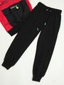Комплект для мальчика: толстовка и брюки спортивные, цвет: красный