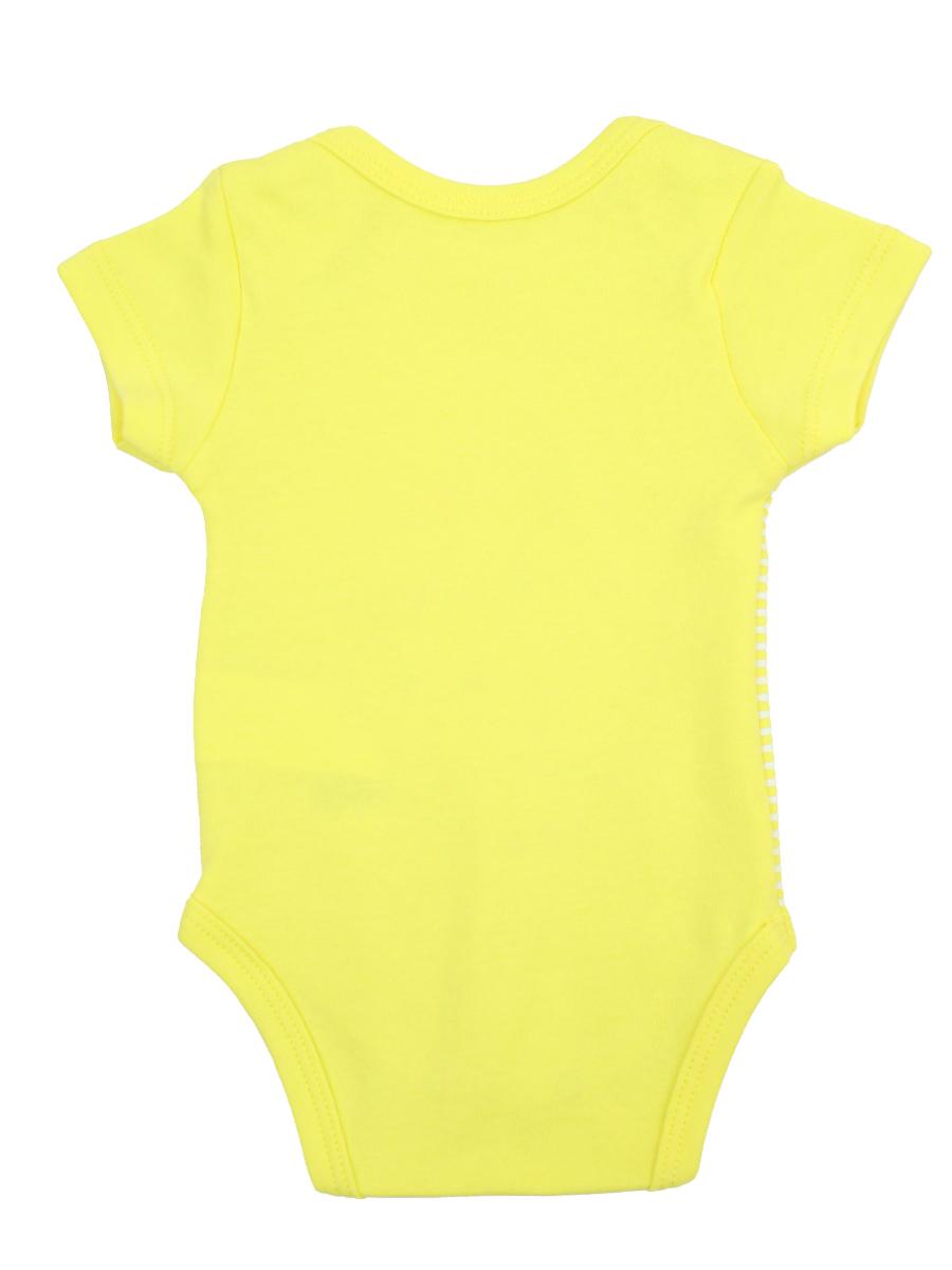 Боди для девочки, цвет: желтый