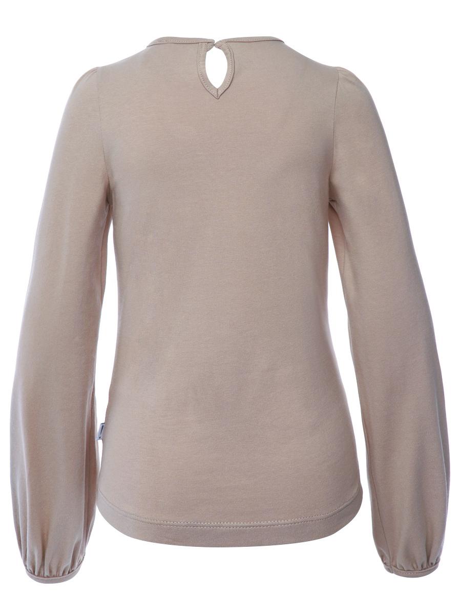 Блузка полуприлегающего силуэта, цвет: кэмел