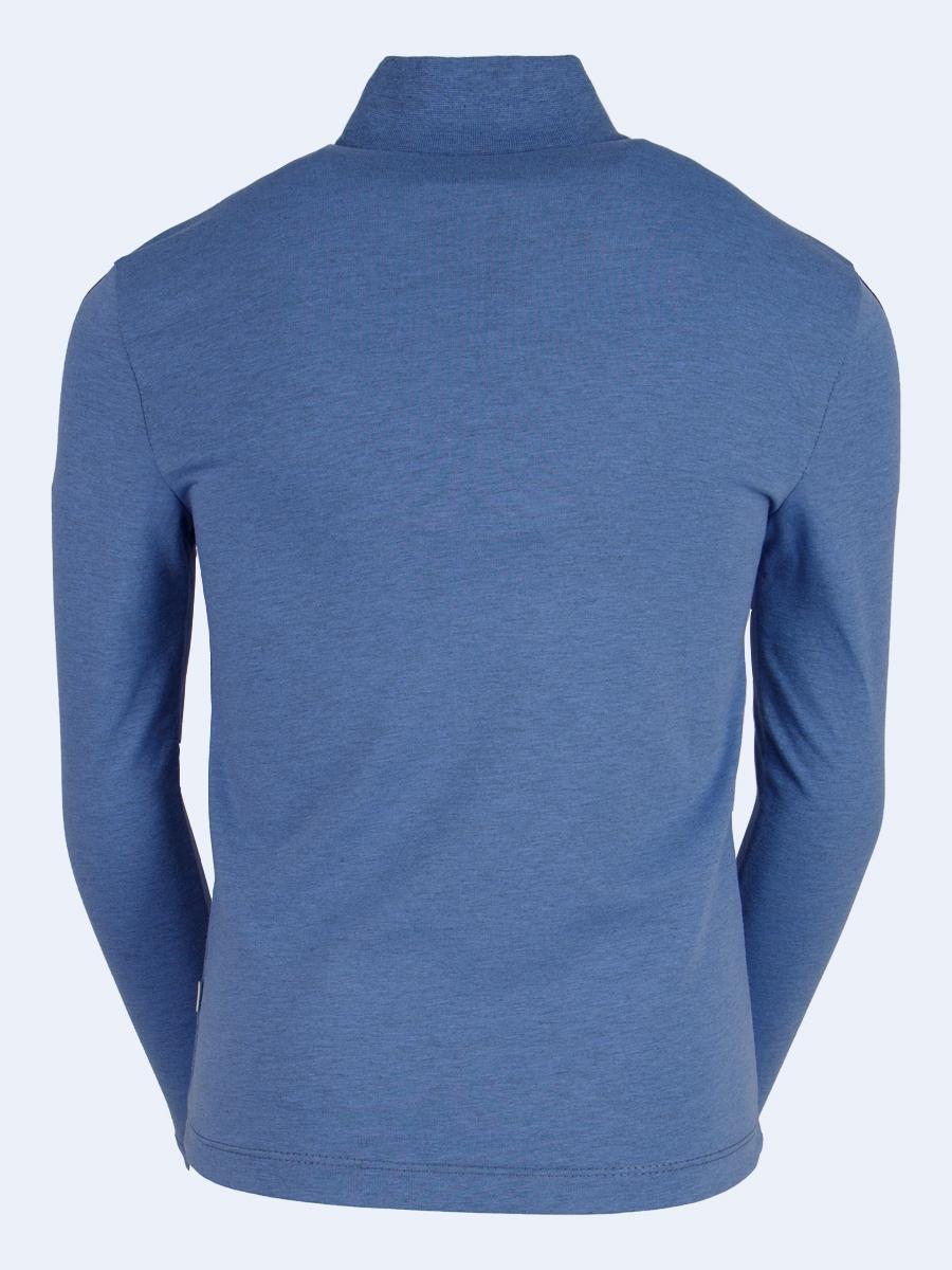 Водолазка для мальчика, цвет: серо-голубой