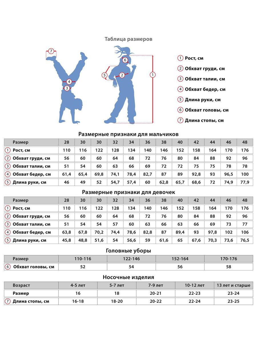 Брюки зауженные со средней посадкой для девочки, цвет: темно-синий