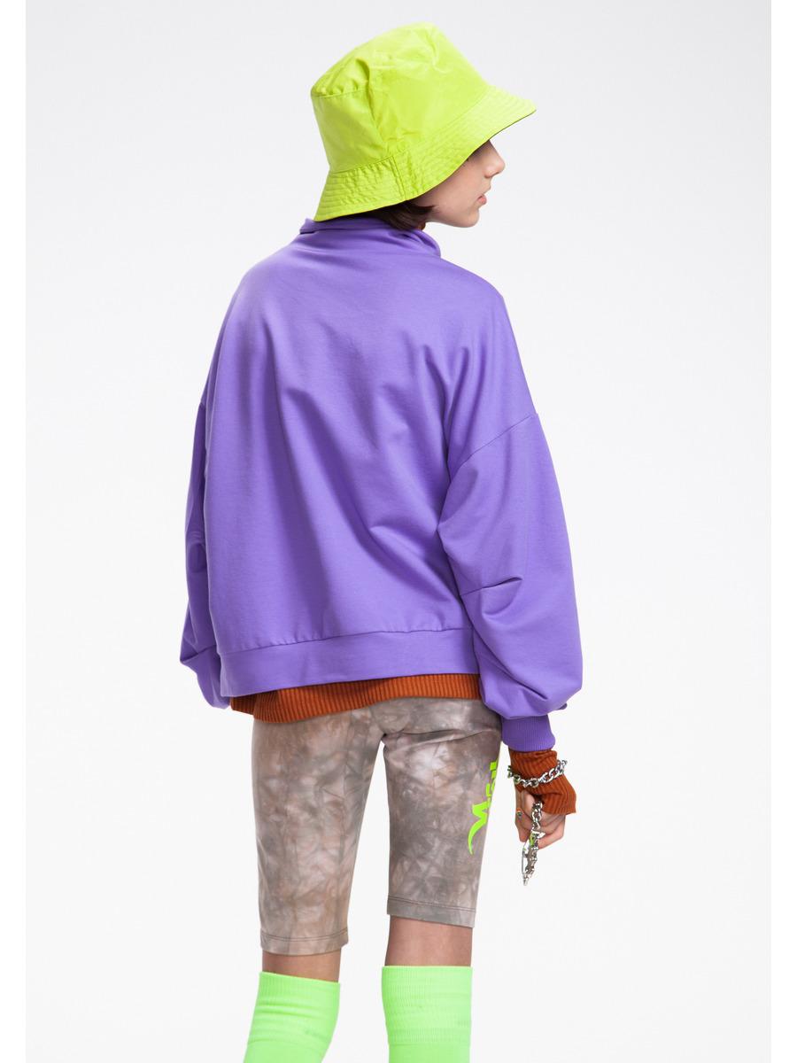 Бриджи укороченные со средней посадкой для девочки Тай-Дай, цвет: меланж капучиновый