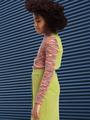 Водолазка для девочки, цвет: мультиколор