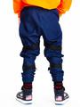 Брюки прямые со средней посадкой для мальчика, цвет: темно-синий