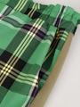 Брюки зауженные с завышенной талией для девочки, цвет: оливковый