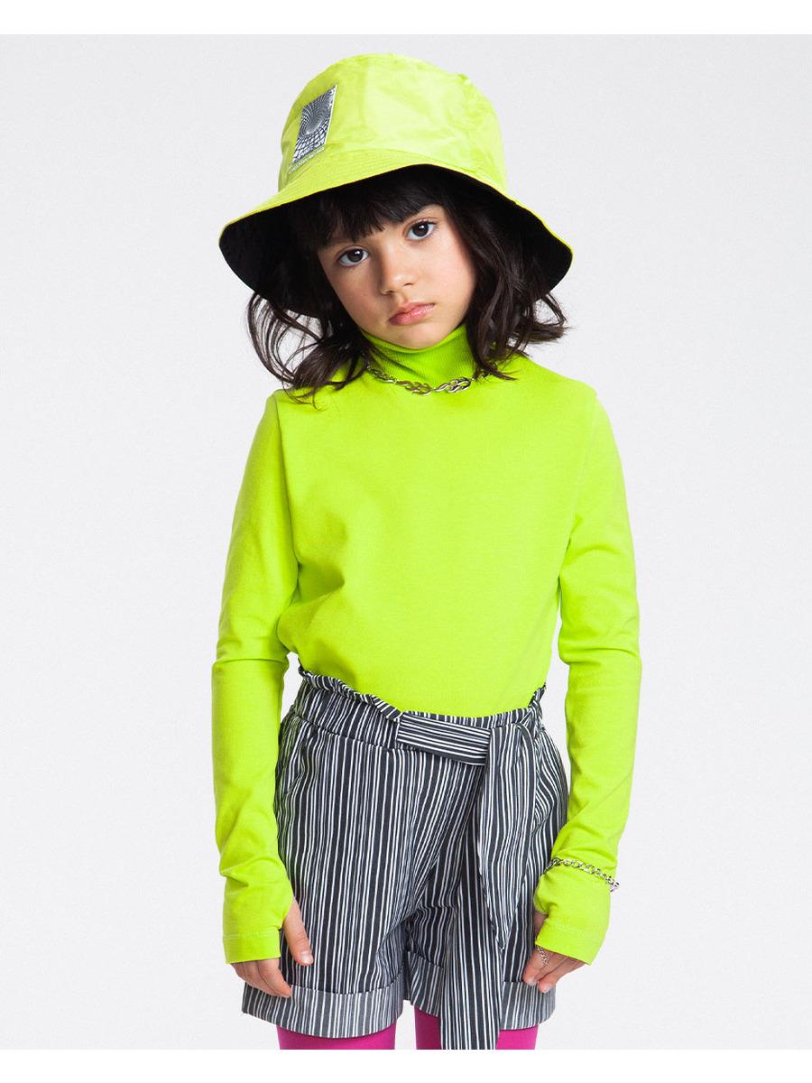 Водолазка для девочки, цвет: салатовый