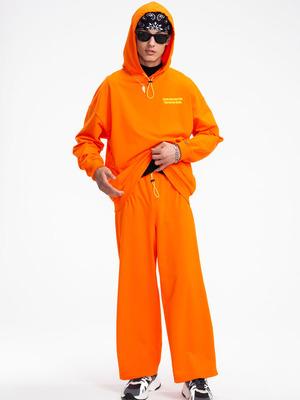 Костюм спортивный: Толстовка и брюки широкие со средней посадкой