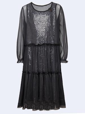 Комплект:из двух платьев прямого силуэта