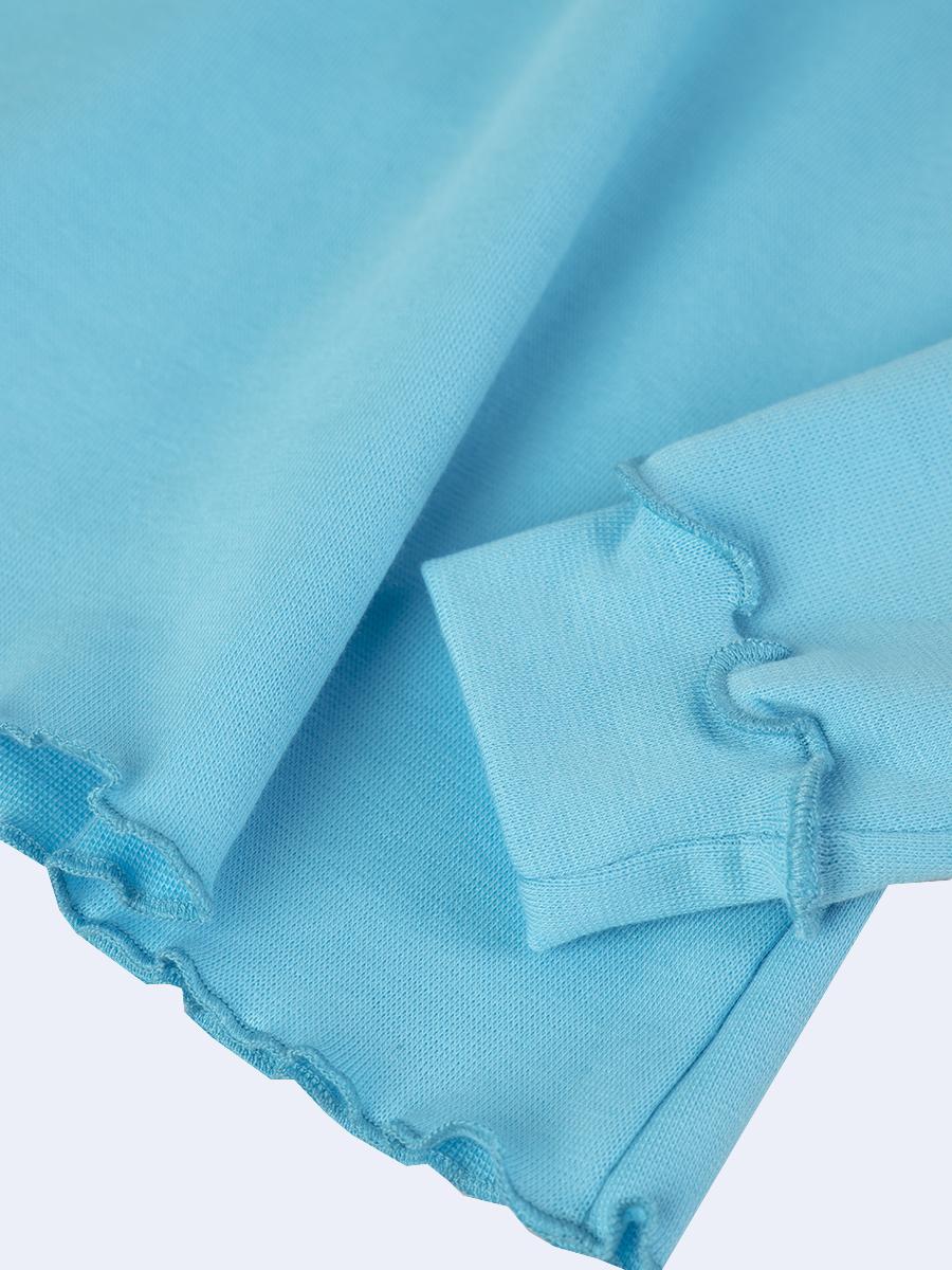 Водолазка для девочки, цвет: бирюзовый
