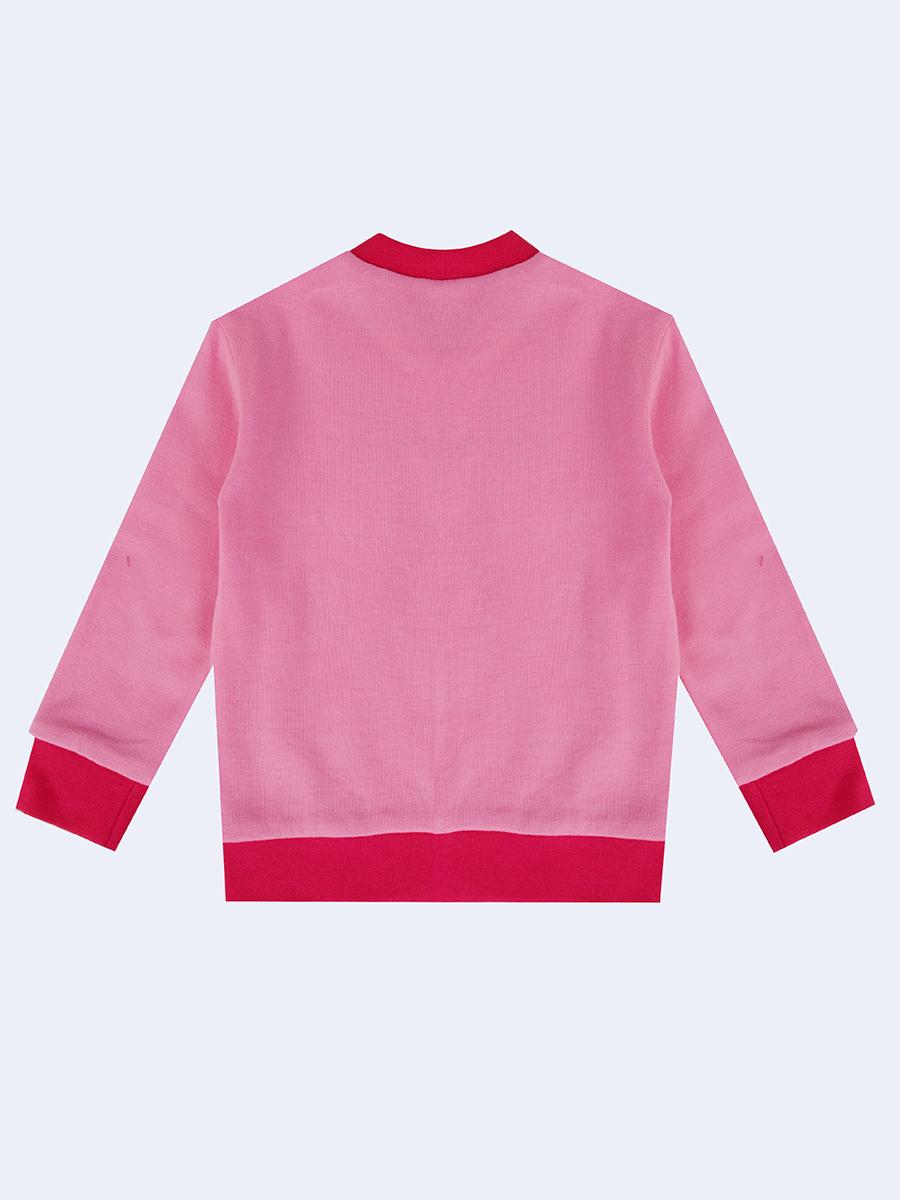 Комплект для девочки: штанишки и кофточка, цвет: розовый