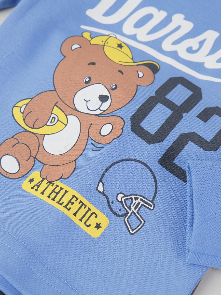 Комплект детский: штанишки и кофточка, цвет: синий