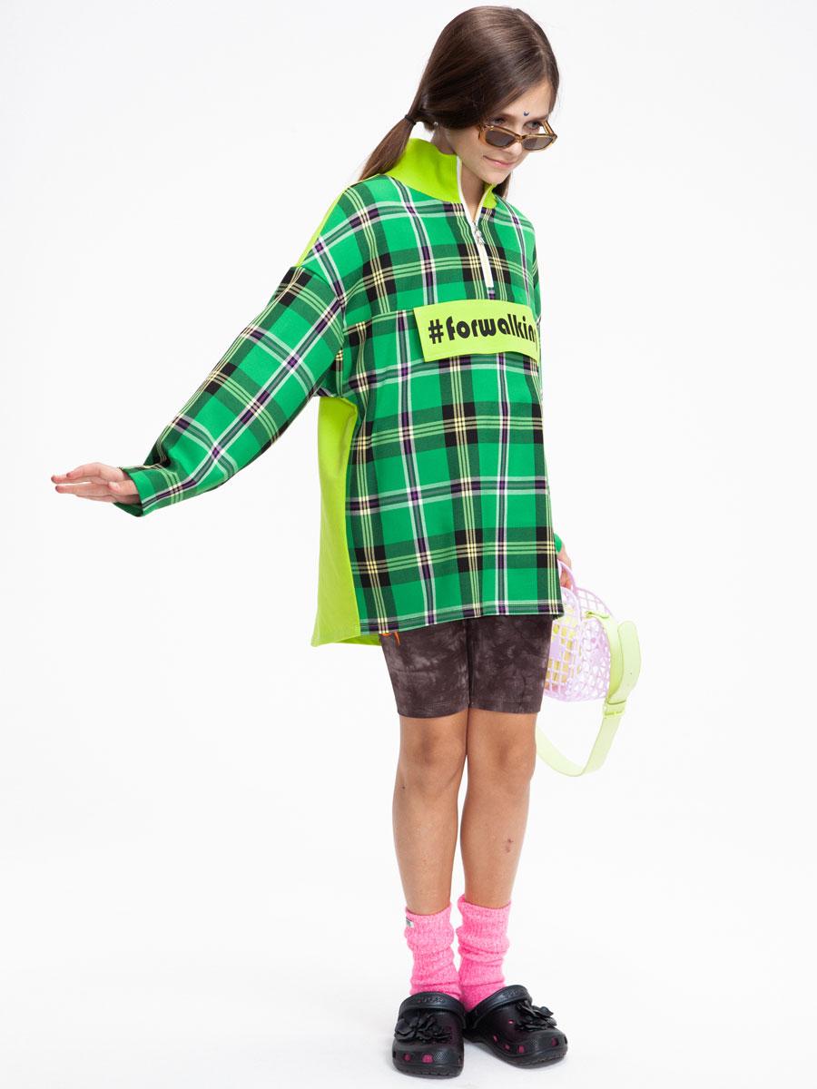 Анорак для девочки, цвет: мультиколор