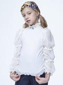 Блузка прилегающего силуэта