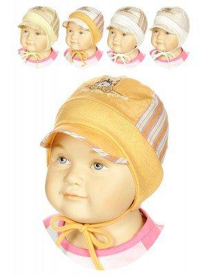 шапка для мальчика летняя