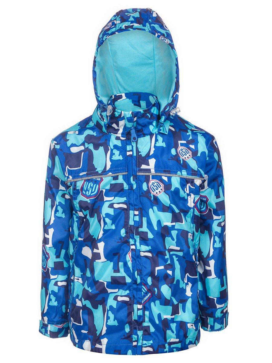 Ветровка для мальчика, цвет: синий