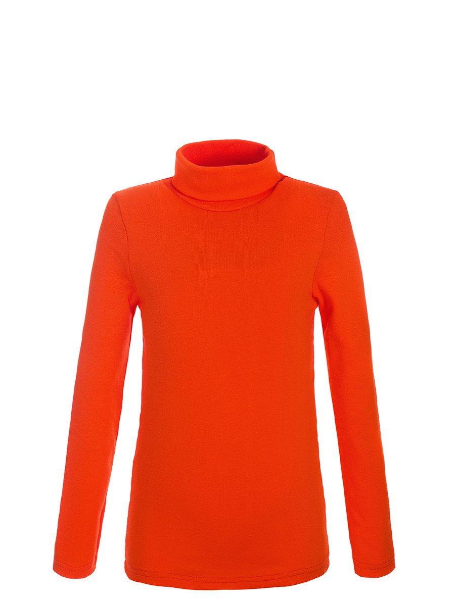 Водолазка детская, цвет: оранжевый