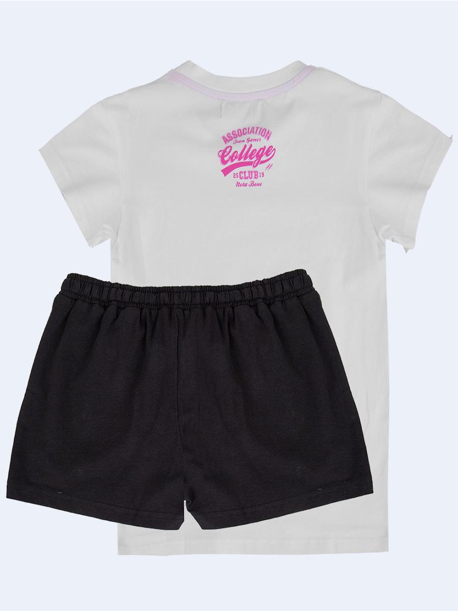 Комплект  для девочки  старшего школьного возраста, цвет: белый