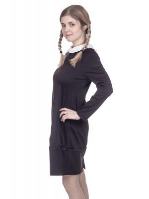 Платье трикотажное для младшего школьного возраста