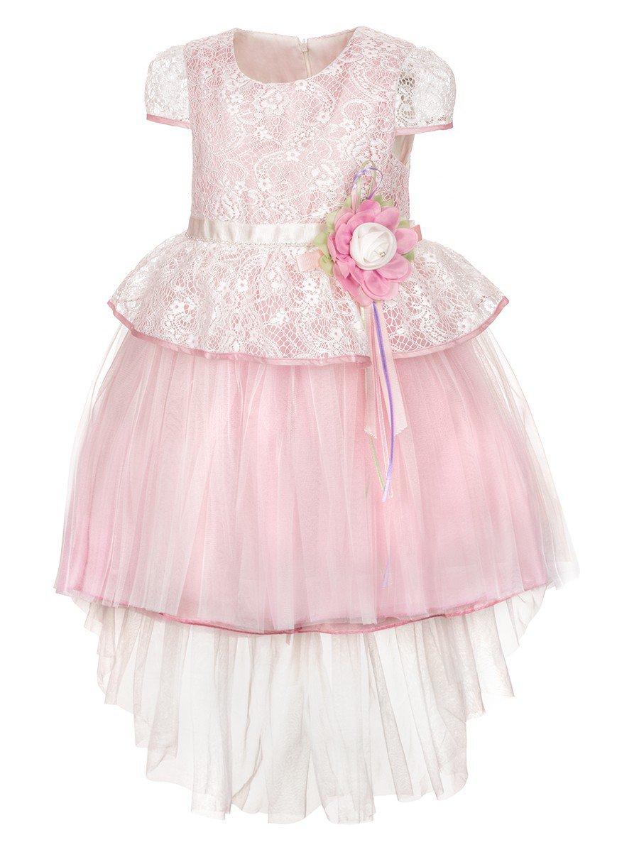 Платье для девочки, цвет: сиреневый