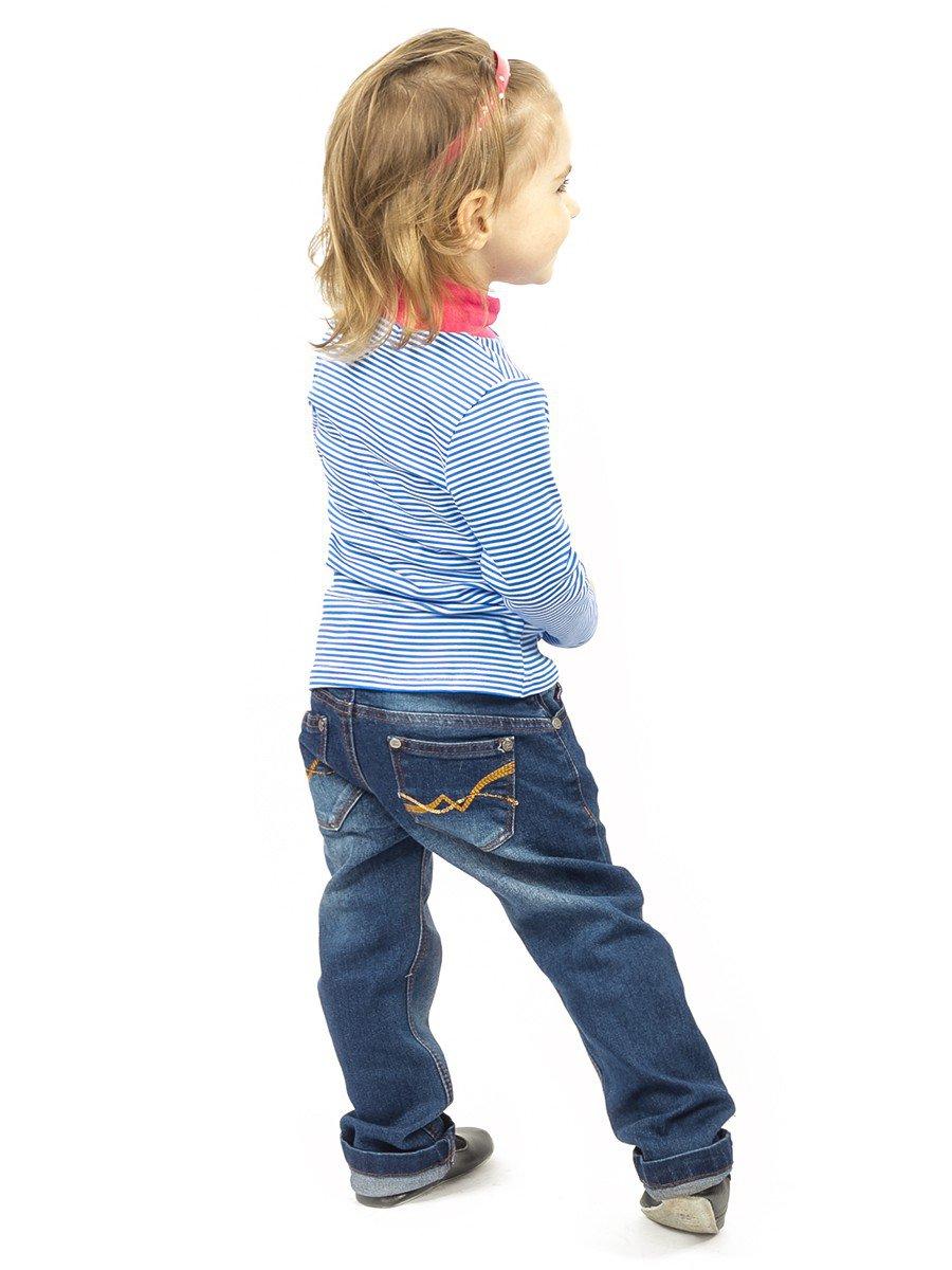 Брюки джинсовые для девочки