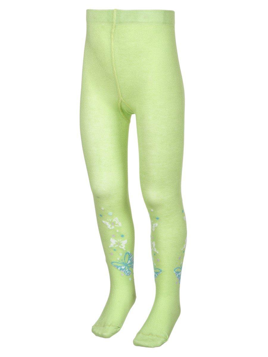 Колготки для девочки TIP-TOP,308 белый, цвет: зеленый
