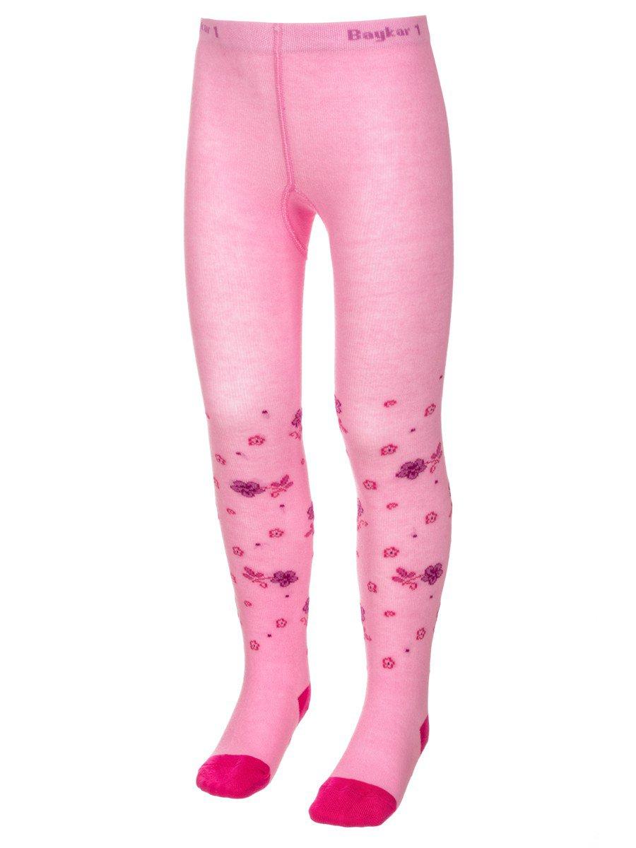 Колготки детские, цвет: розовый