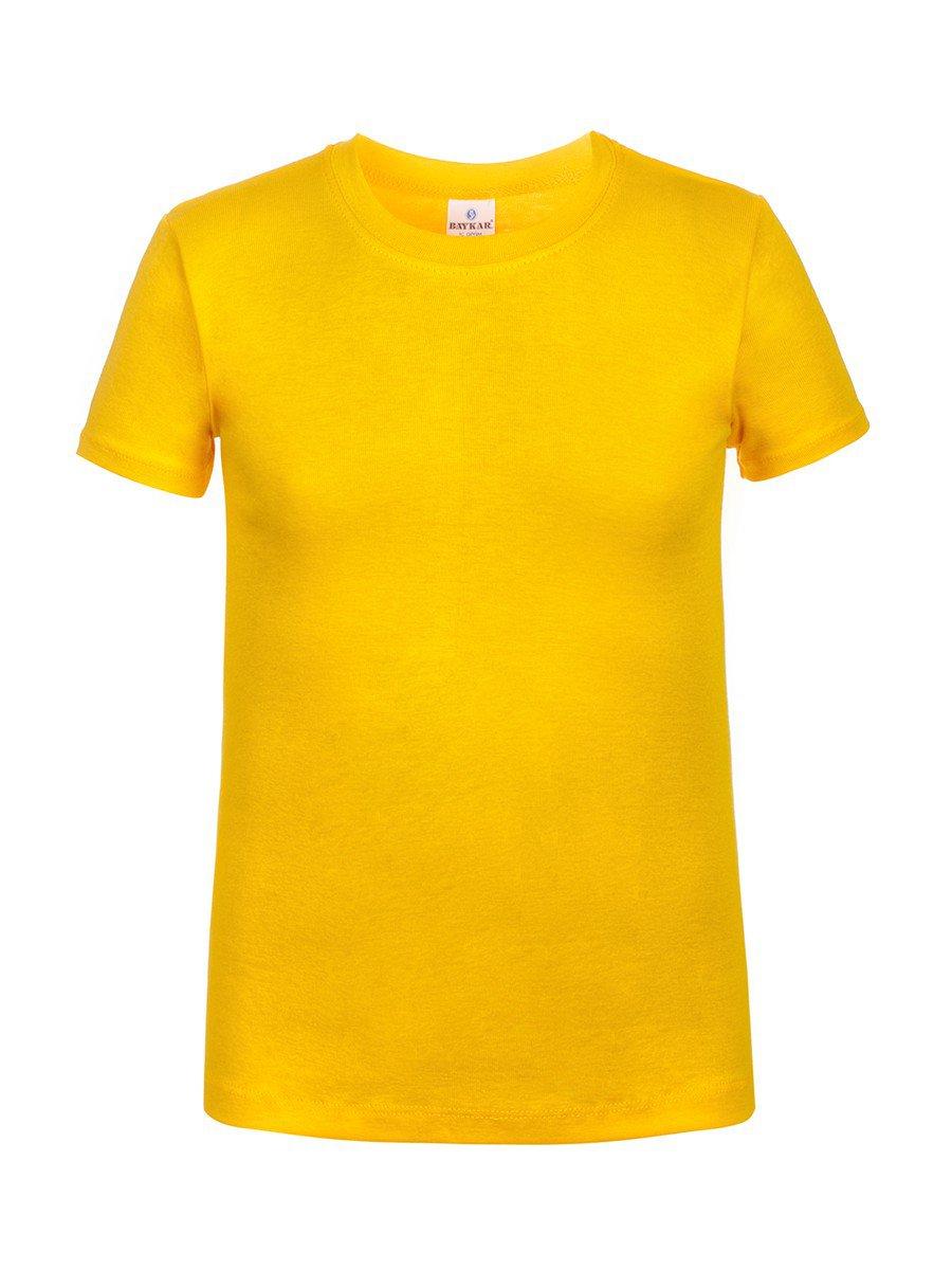 Футболка детская, цвет: желтый