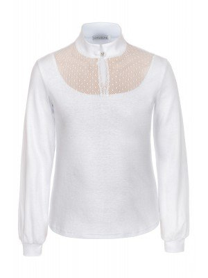 Блузка для девочки трикотажная