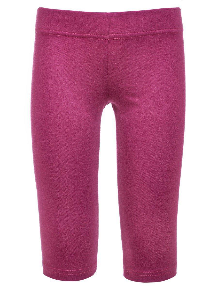 Бриджи для девочки, цвет: фиолетовый