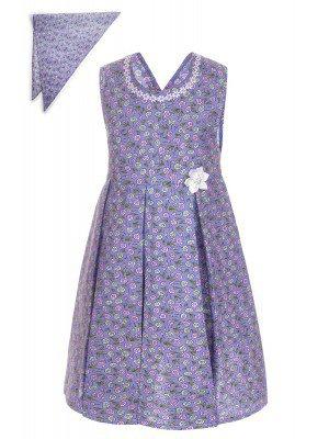 Платье с косынкой для девочки
