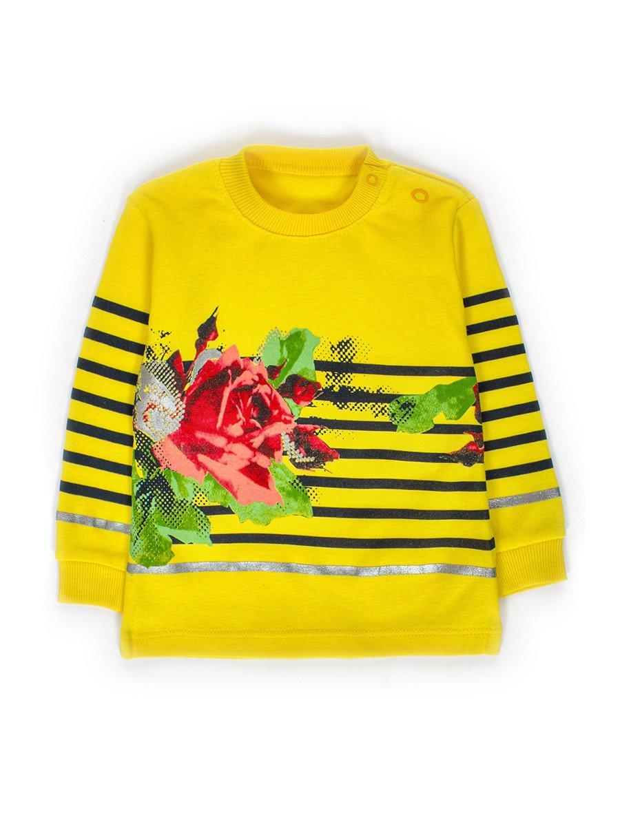 Кофточка для девочки, цвет: желтый