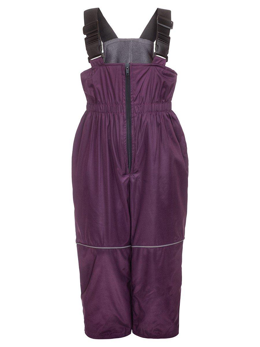 Полукомбинезон из плащевой ткани на подкладке из флиса (унисекс), цвет: фиолетовый