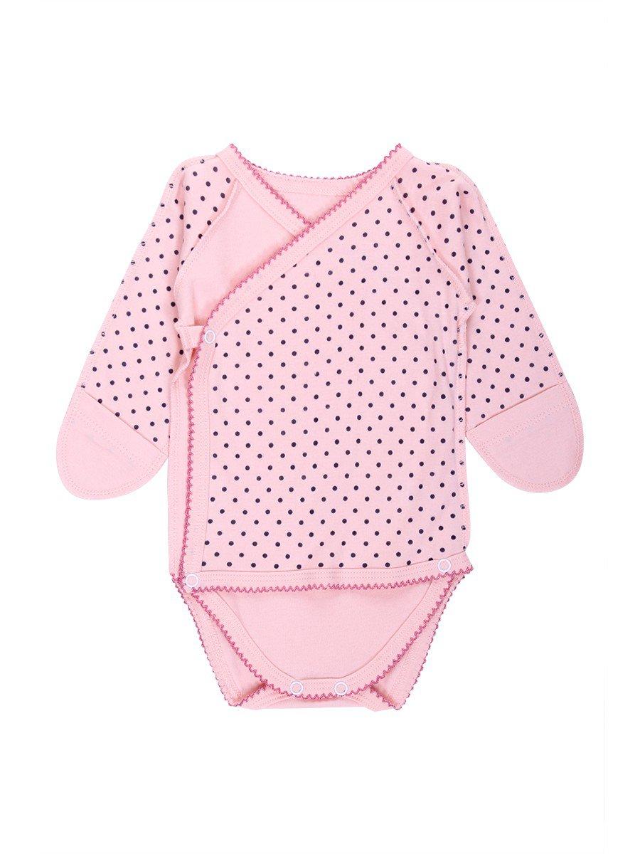 Боди детское, цвет: розовый