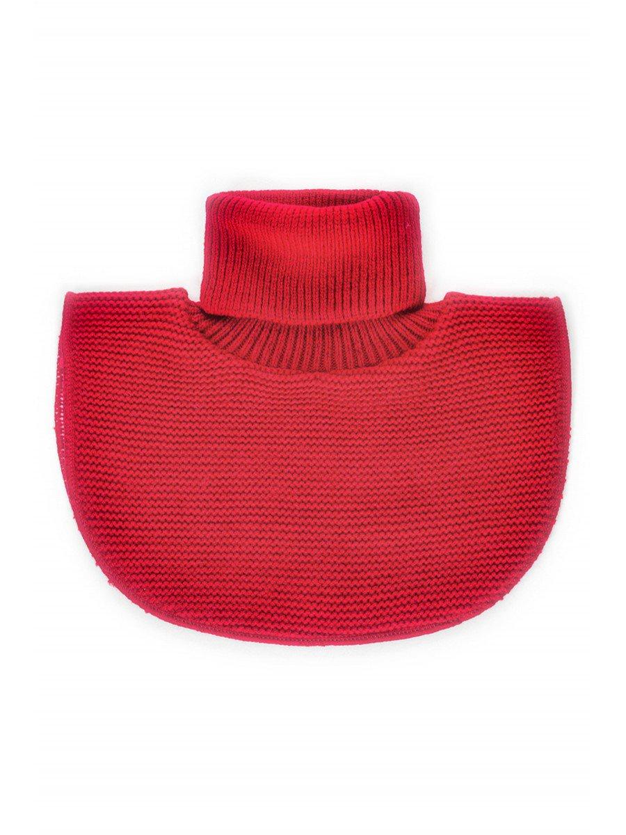 Манишка для девочки, цвет: бордовый
