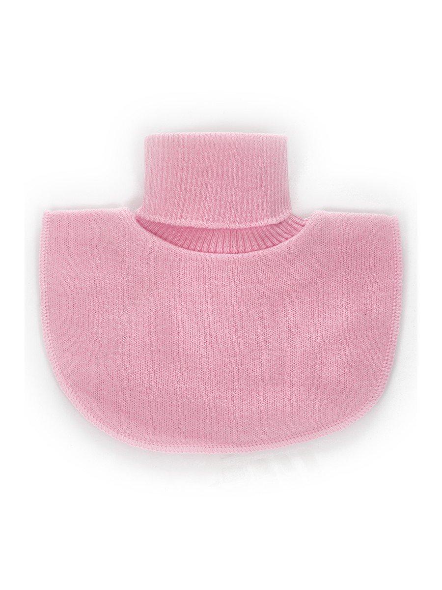 Манишка для девочки, цвет: розовый