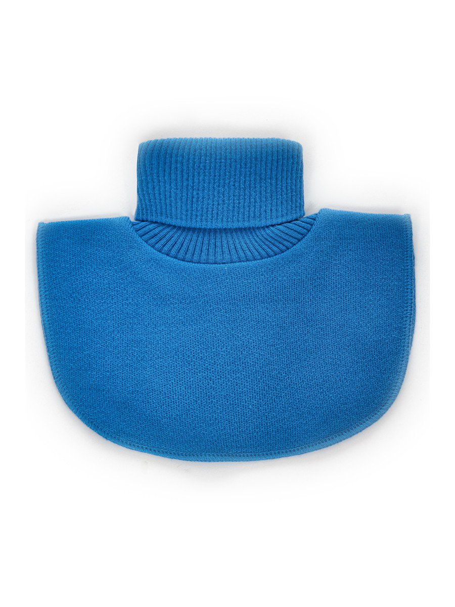 Манишка для девочки, цвет: синий