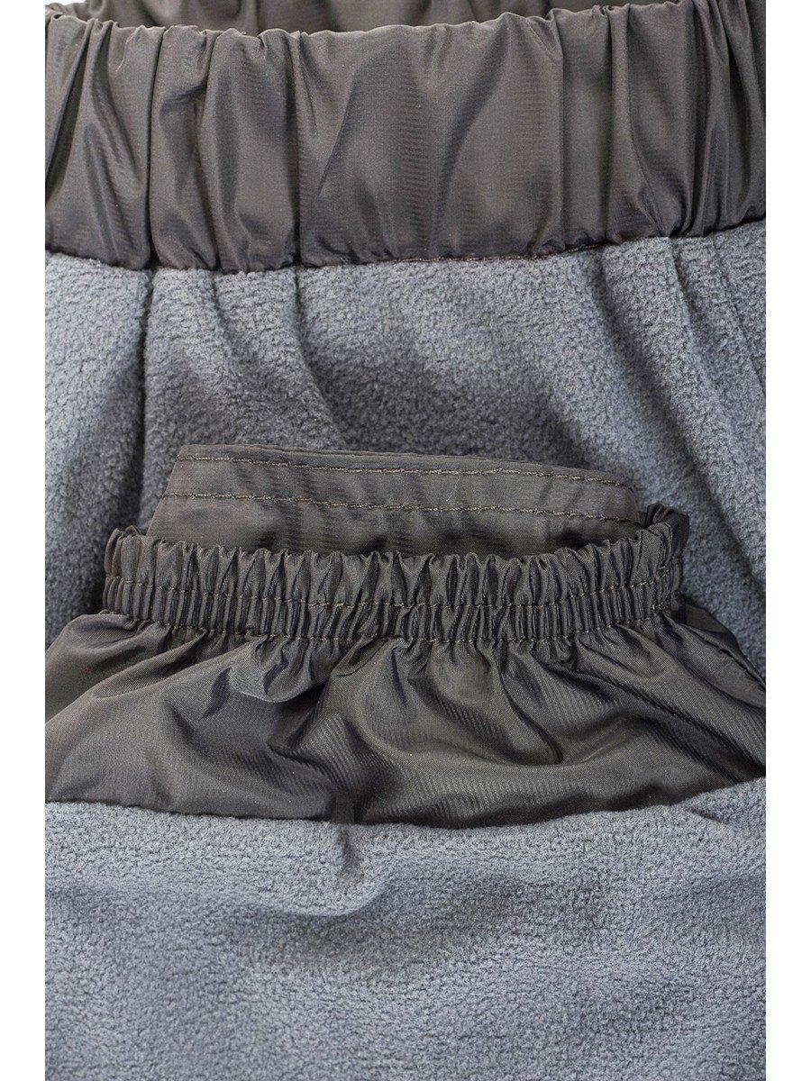 Брюки из плащевой ткани на подкладке из флиса (девочка)