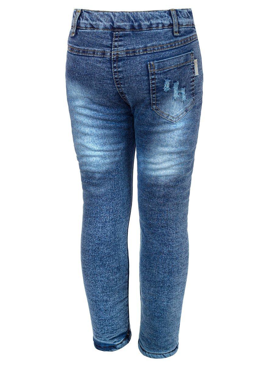 Брюки джинсовые на махровой подкладке