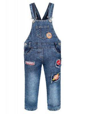 Полукомбинезон джинсовый для мальчика