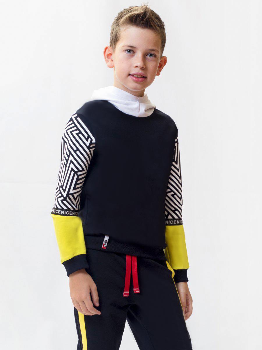 Толстовка с капюшоном для мальчика
